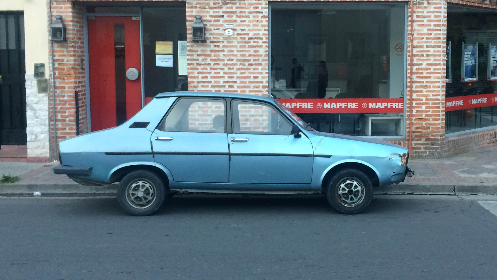 Renault 12 in South America