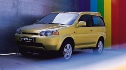 Baby Poo Yellow Honda HR-V