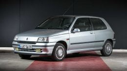 Renault Clio Baccara auction sale