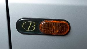 Renault Clio Baccara badge