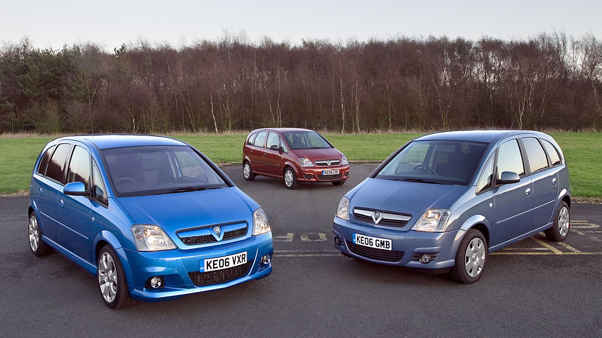 Vauxhall Meriva VXR and range
