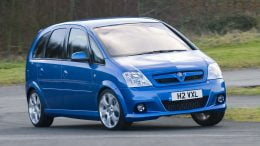 Vauxhall Meriva VXR on it
