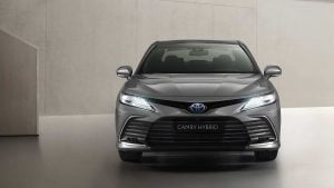 Camry Hybrid 2021 front