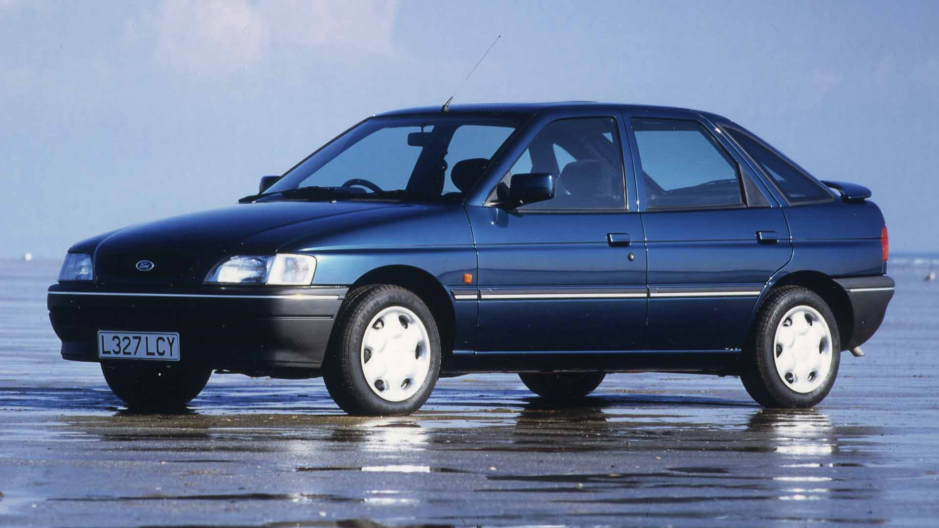 Ford Escort best-selling car 1992
