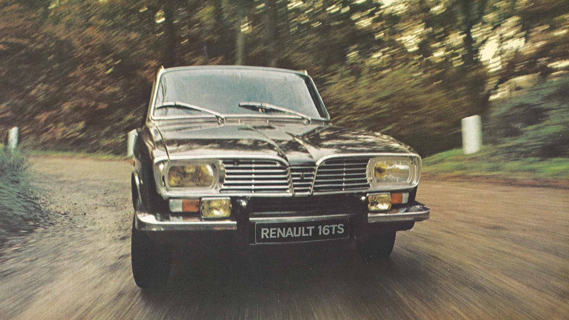 Renault 16 TS on the road