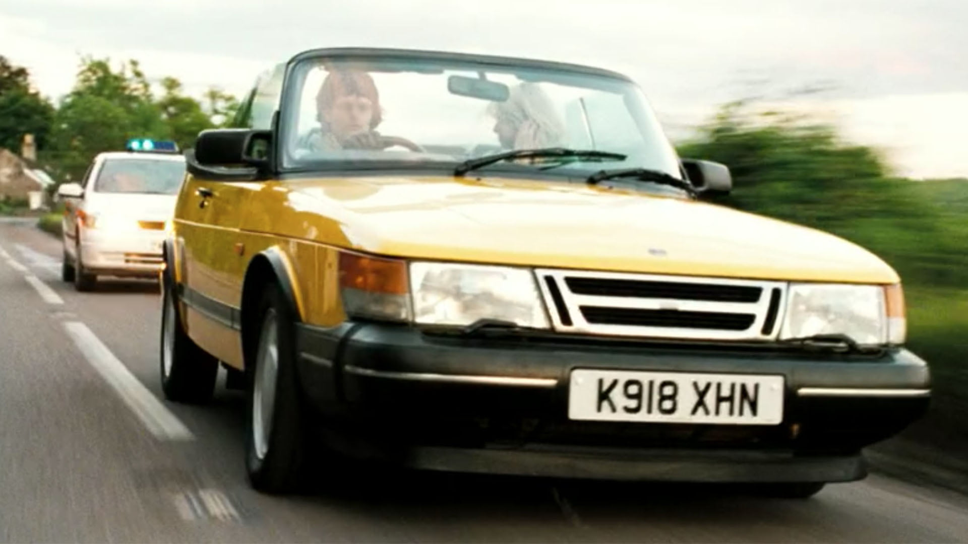 Saab 900 Convertible Hot Fuzz