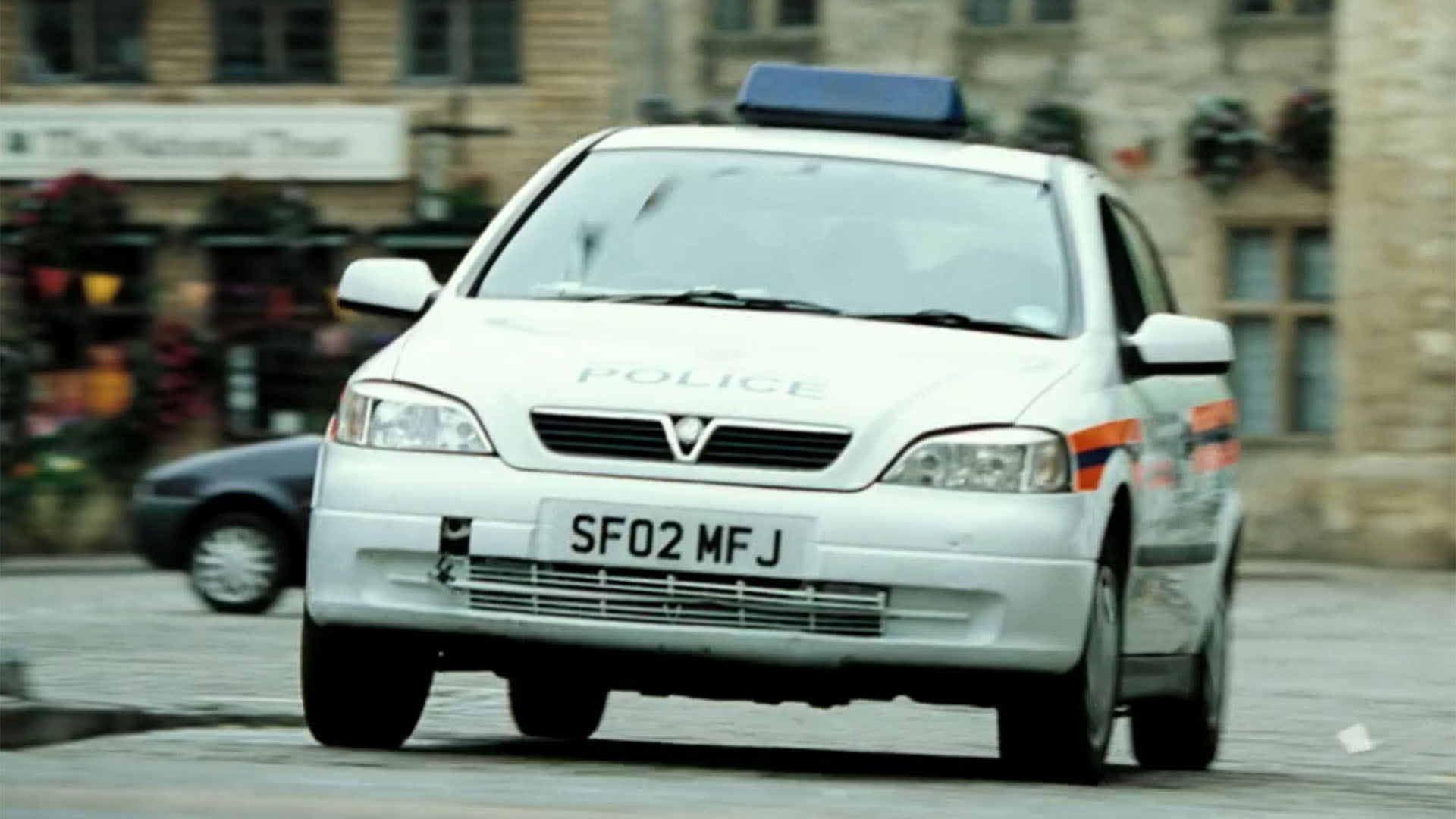 Vauxhall Astra police car Hot Fuzz