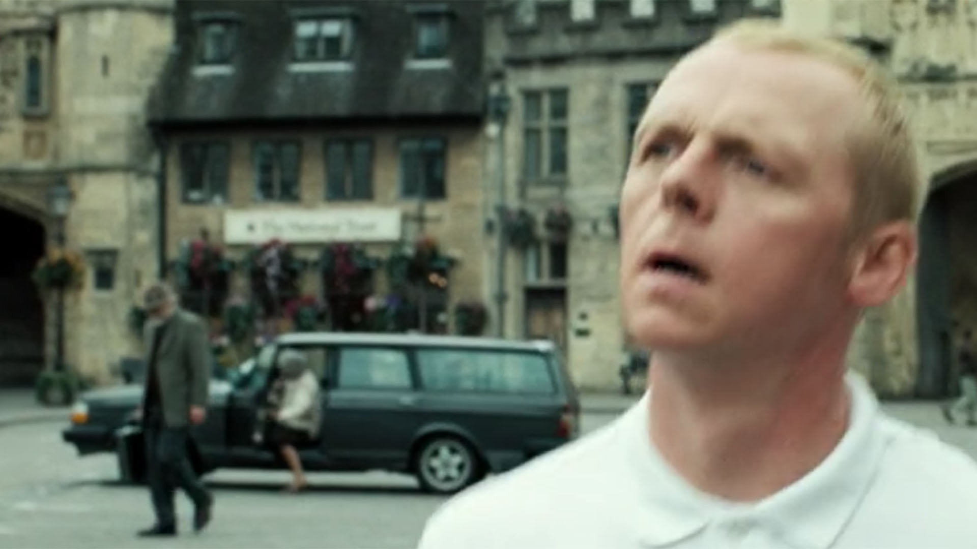 Volvo 240 in Hot Fuzz