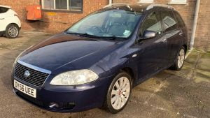 Blue Fiat Croma for sale