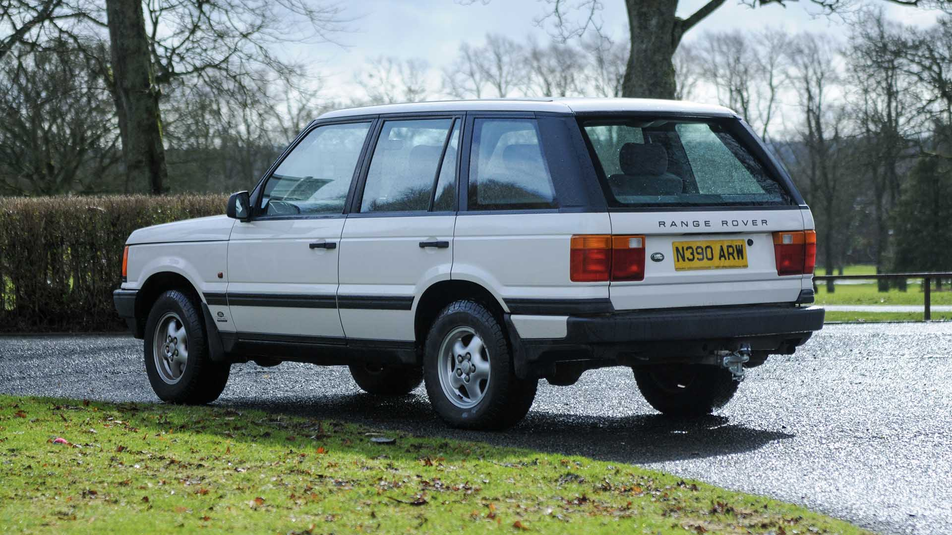 Cheshire Police Range Rover P38A