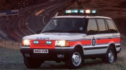 Greater Manchester Police Range Rover P38A